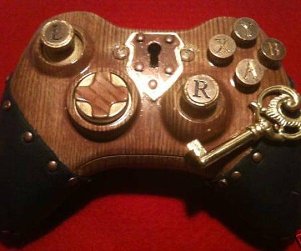 MorbidStix Xbox 360 Controller: Steampunk? More Like Keypunk