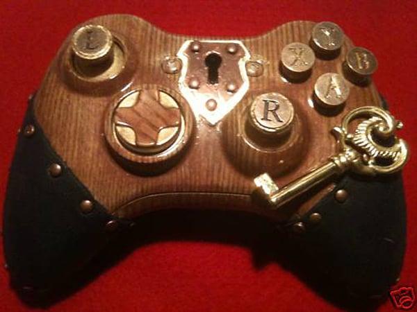 morbidstix steampunk xbox 360 controller