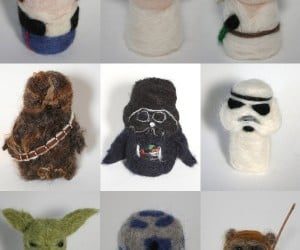 Star Wars Characters Get Needle-Felted, Everyone Now as Cute as an Ewok