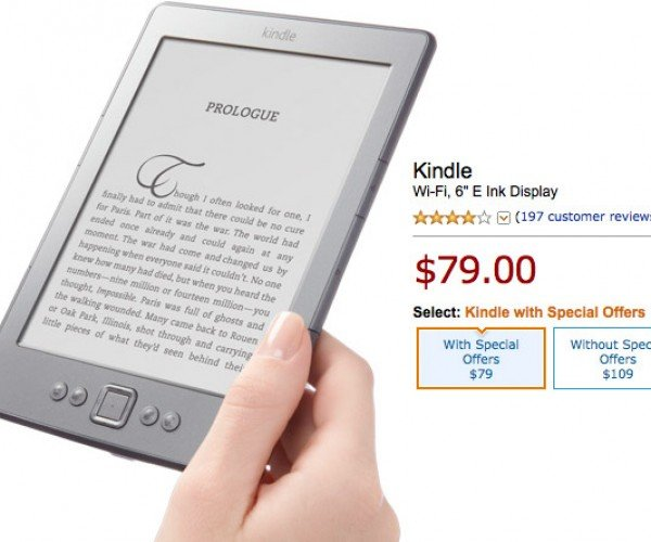 Subsidized Amazon Kindle Owners Can Shed Ads – for a Price
