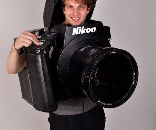 Nikon D3 DSLR Costume Actually Takes Photos