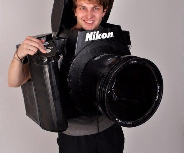 Nikon D3 DSLR Costume Actually Takes Photos