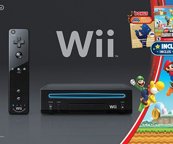 Black Wii Holiday Bundle Can't Play Gamecube Games: Should've Been Launched Back in April 1