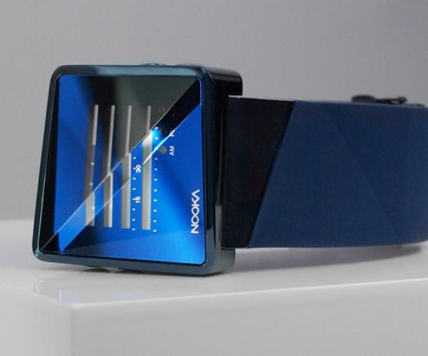 Nooka Zizm zenH: Refracted Crystal Lens Distorts Time
