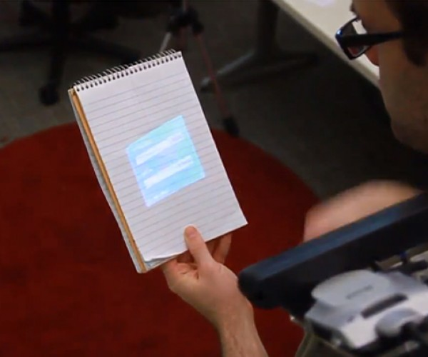 OmniTouch Kinect-based Wearable Projector: You Are the Touchscreen