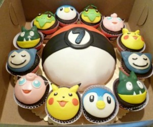 Adorable Pokemon Cupcakes: Gotta Eat 'Em All