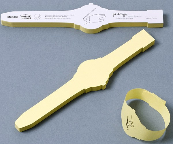 Post-It Note Watch: A Constant Reminder