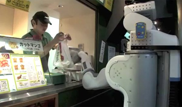 pr2 robot fetches sandwiches
