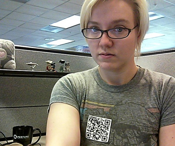 QR Code Virtual Costume: for the Shy or Lazy Geek