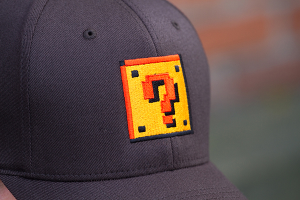 question block hat from 604republic 2