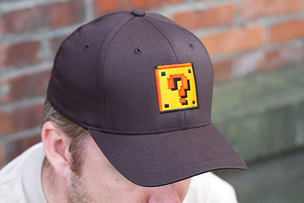 question block hat from 604republic