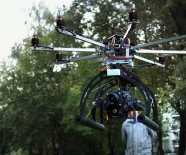German Effects Firm Builds RED Epic Octocopter