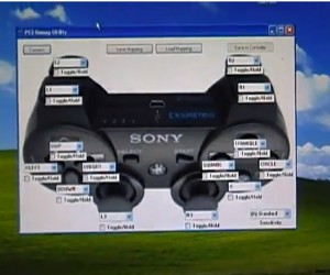 Fully Remappable PS3 Controller: It Only Does Every Button.