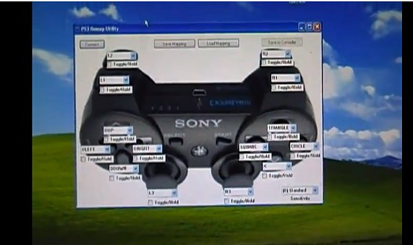 remappable ps3 controller by hazer