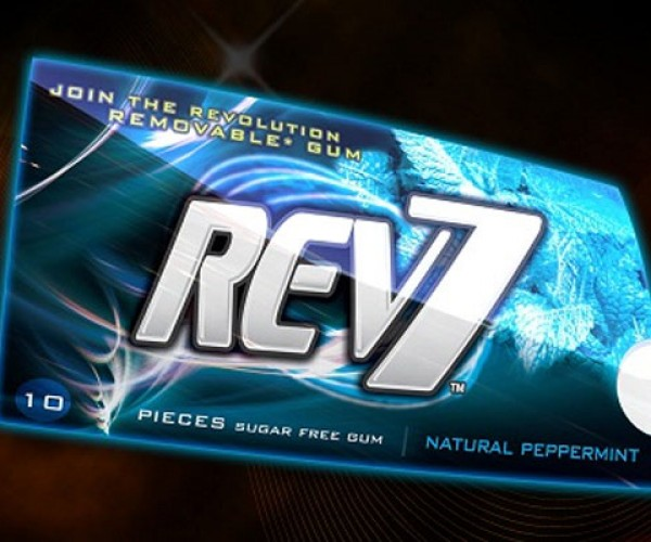 Rev7 Biodegradeable Chewing Gum Won't Stay in Your Belly (or Under the Table) Forever