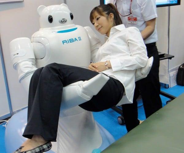 RIBA II Robot Carries Frail Humans, Doesn't Pile Them Like Cordwood