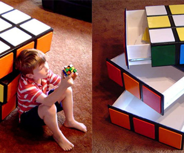 Rubik's Cube Chest Has a Different Kind of Puzzle