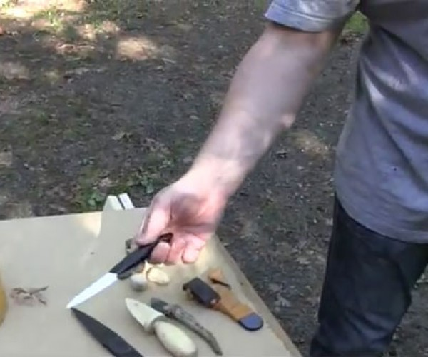 Joerg Sprave Tests Weapons that a Metal Detector Won't Find