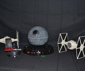 Star Wars Sound System with Death Star Subwoofer: The Bass is Strong with This One