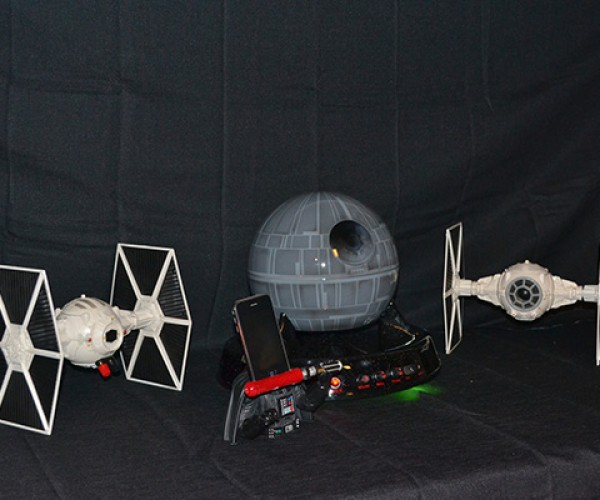 star wars sound system with death star subwoofer by major league mods 6
