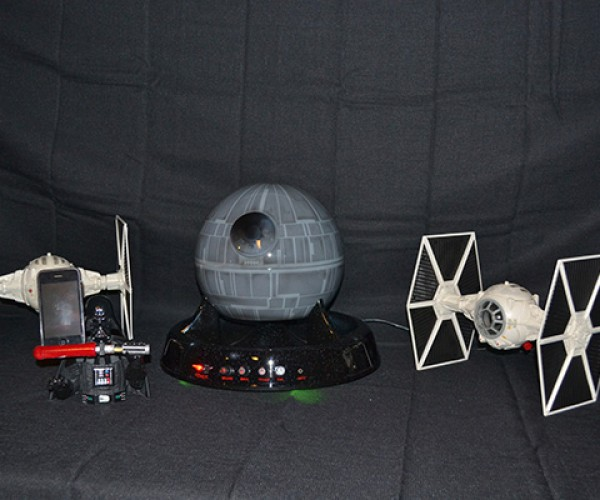 star wars sound system with death star subwoofer by major league mods