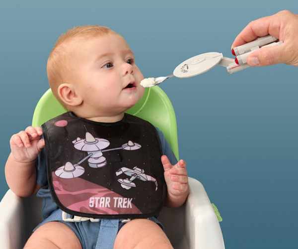 Starship Enterprise Spoon Feeds The Next Generation