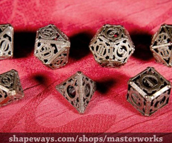 Just Another Set of Steampunk Dice, That's All…