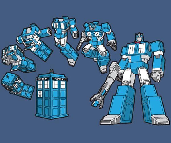 T.A.R.D.I.S. Prime T-Shirt: More than Meets the Time