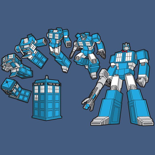tardis prime t-shirt by jason casteel