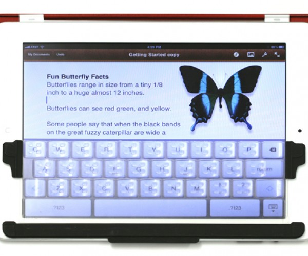 TouchFire iPad Keyboard: Hot Concept