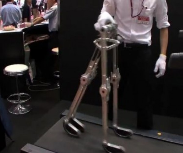 Passive Walking Robot Walks on Its Own