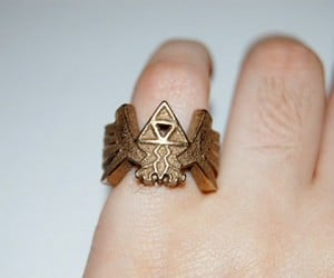 Zelda Triforce Ring: Wisdom, Power, Courage, Style