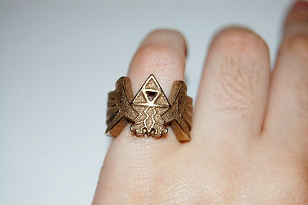 zelda tri force ring 1