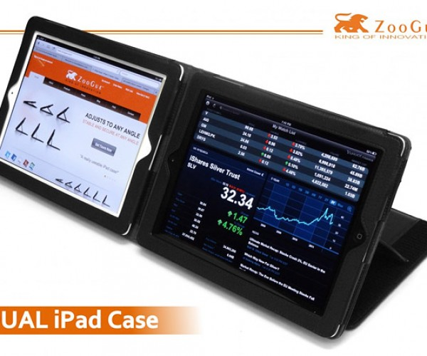 iPad DS: Dual iPad Case Lets You Use Two iPads at Once