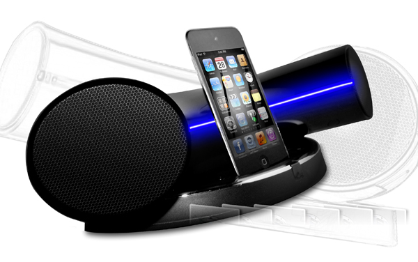 speakal ikurv dock ipod iphone speaker audio