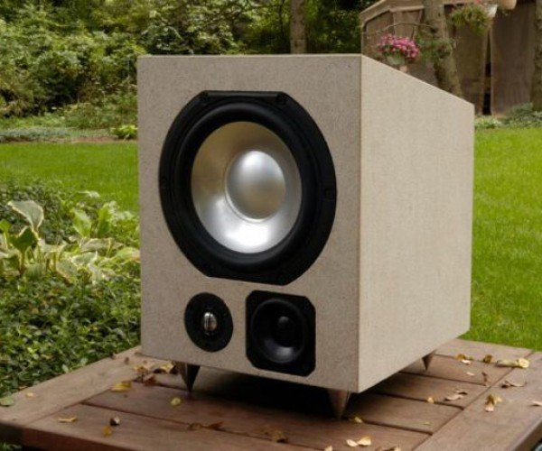 Audiomasons Design Works Limestone Rock Speakers Will Outlast You