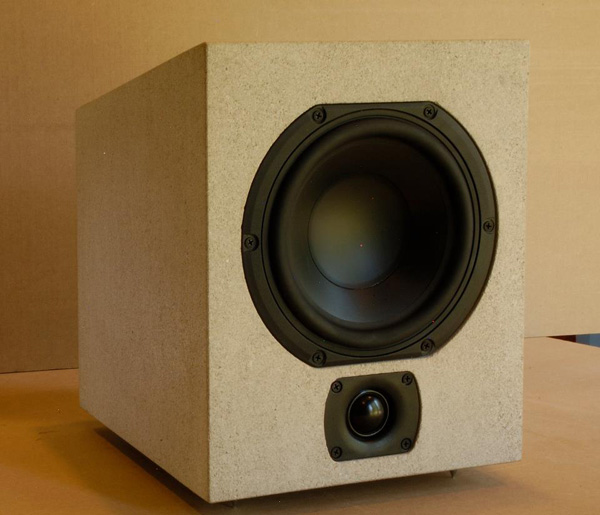 audiomasons rock speaker carved hollowed audiophile audio
