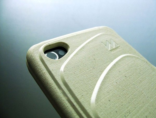 re-case miniwiz sustainable trash rice paper case iphone 4 4s