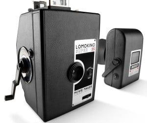 LomoKino Super 35 Movie Maker Camera Creates Old Timey Movies