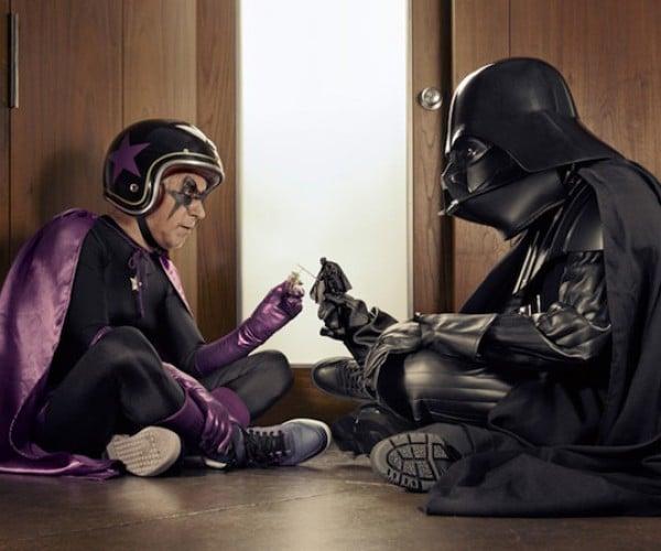darth vader mamika mr papika superheroes star wars grandpa
