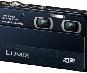 Panasonic Lumix DMC-3D1 Camera Sees Double