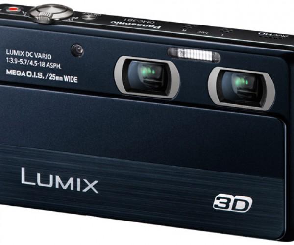 Panasonic Lumix DMC-3D1 Camera Sees Double