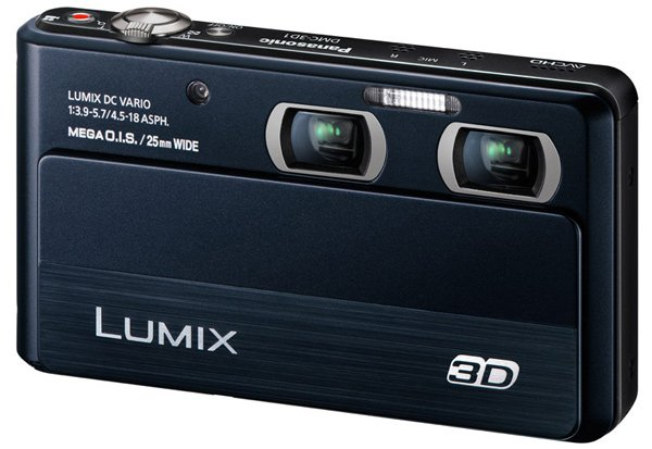 panasonic lumix 3d1 dmc 3d camera digital imaging point-and-shoot