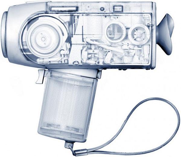 max de esteban x-ray objects photos design tech retro