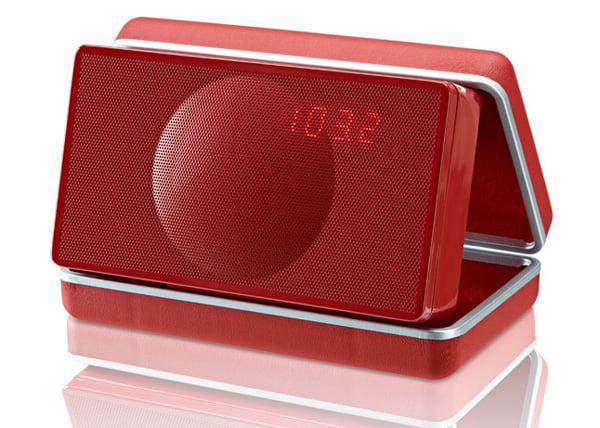 geneva lab sound systems xs clamshell retro speaker bluetooth portable