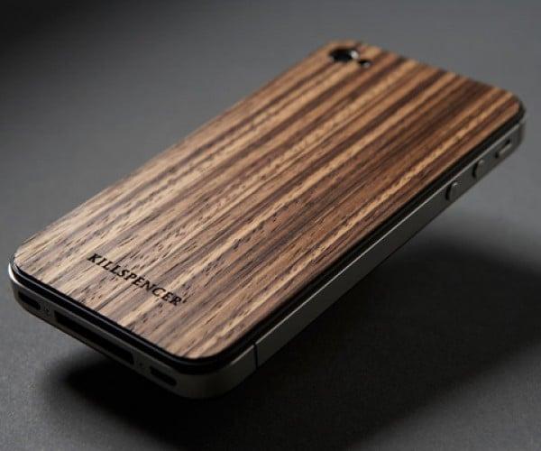 Killspencer iPhone Zebrawood Veil: Wood Looks Good