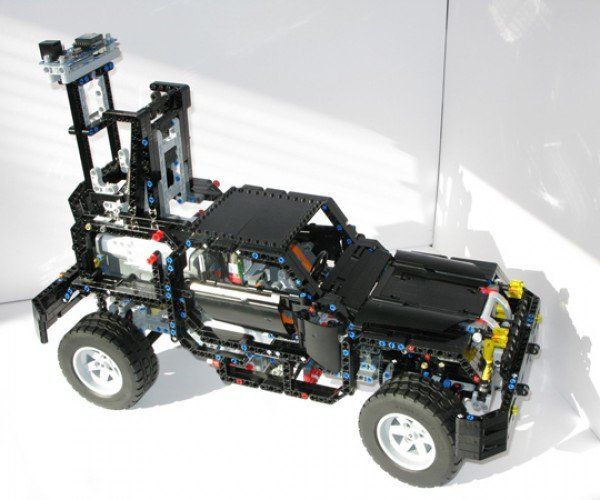 LEGO Google Street View Car Gets a Makeover