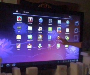 65-Inch Android Touchscreen Tablet: Big Enough for Ya?