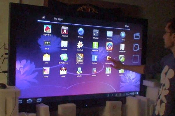 giant android tablet ardic technologies presentation touchscreen