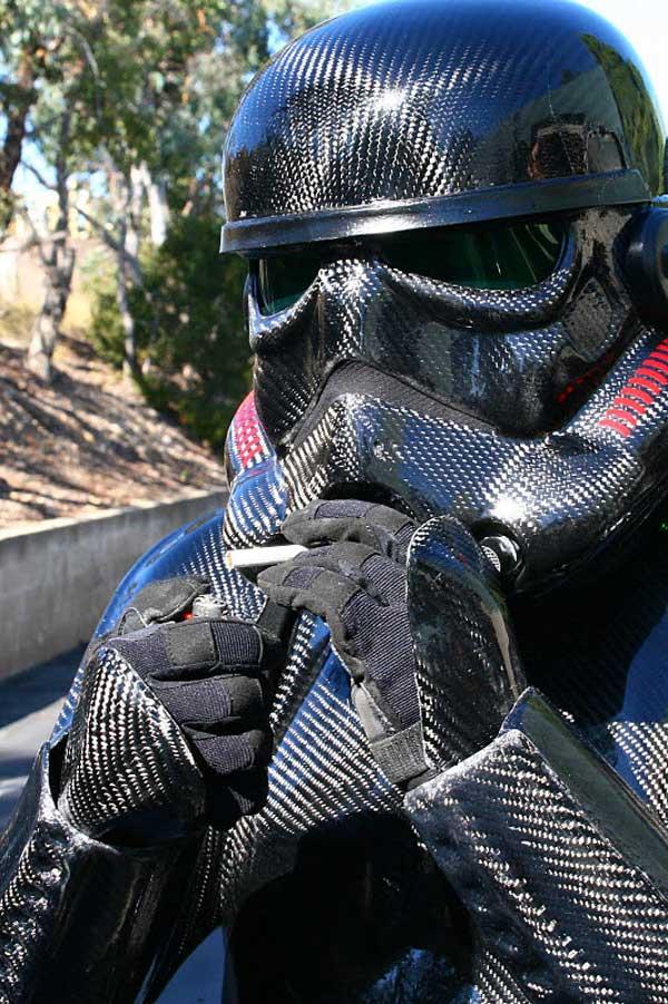 carbon fiber stormtrooper star wars cosplay diy troopers